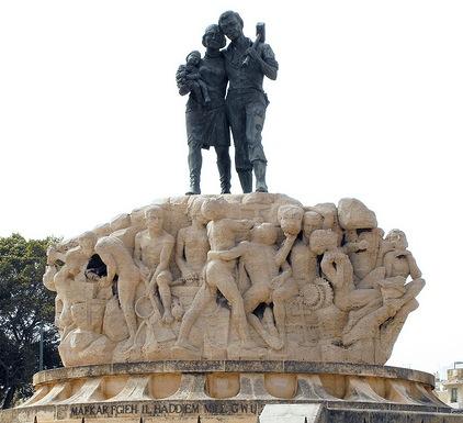 Monument tal-Ħaddiem Malti - l-Imsida