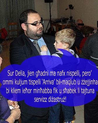 Emmanuel Delia - Ministry for Transport - Arriva